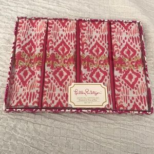 BNWT Lilly Pulitzer cocktail napkins